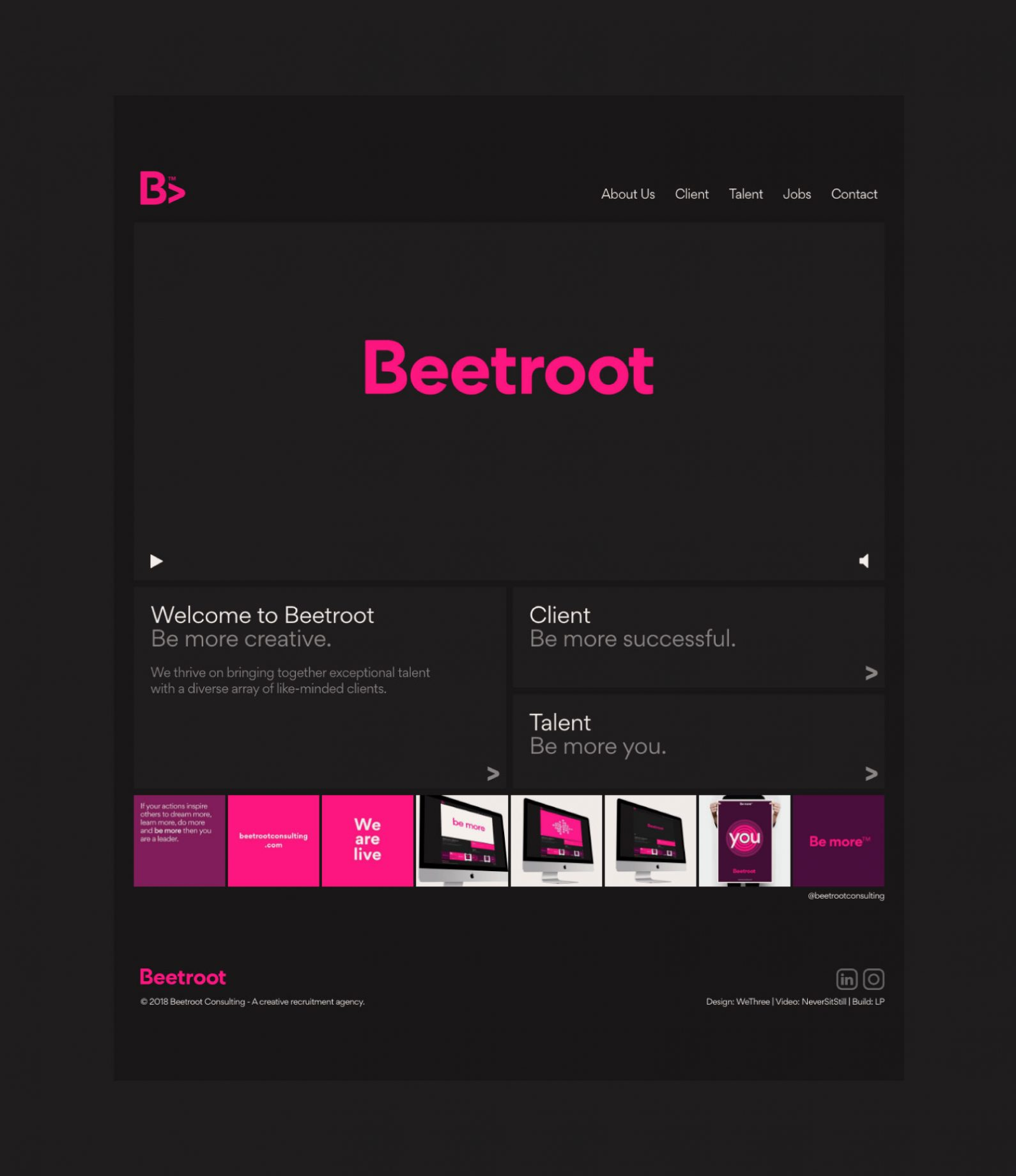 Beetroot Website
