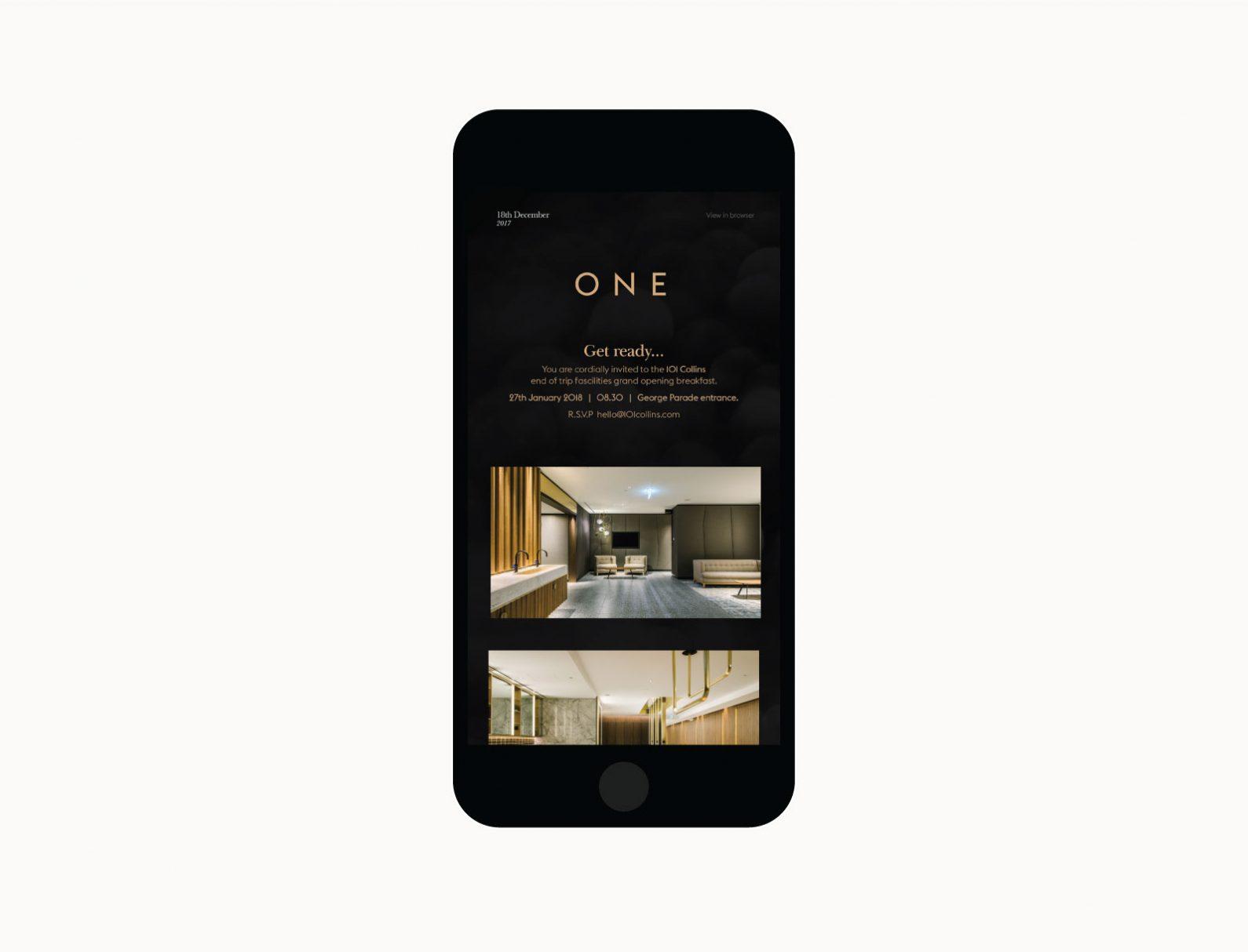 ONE E-News