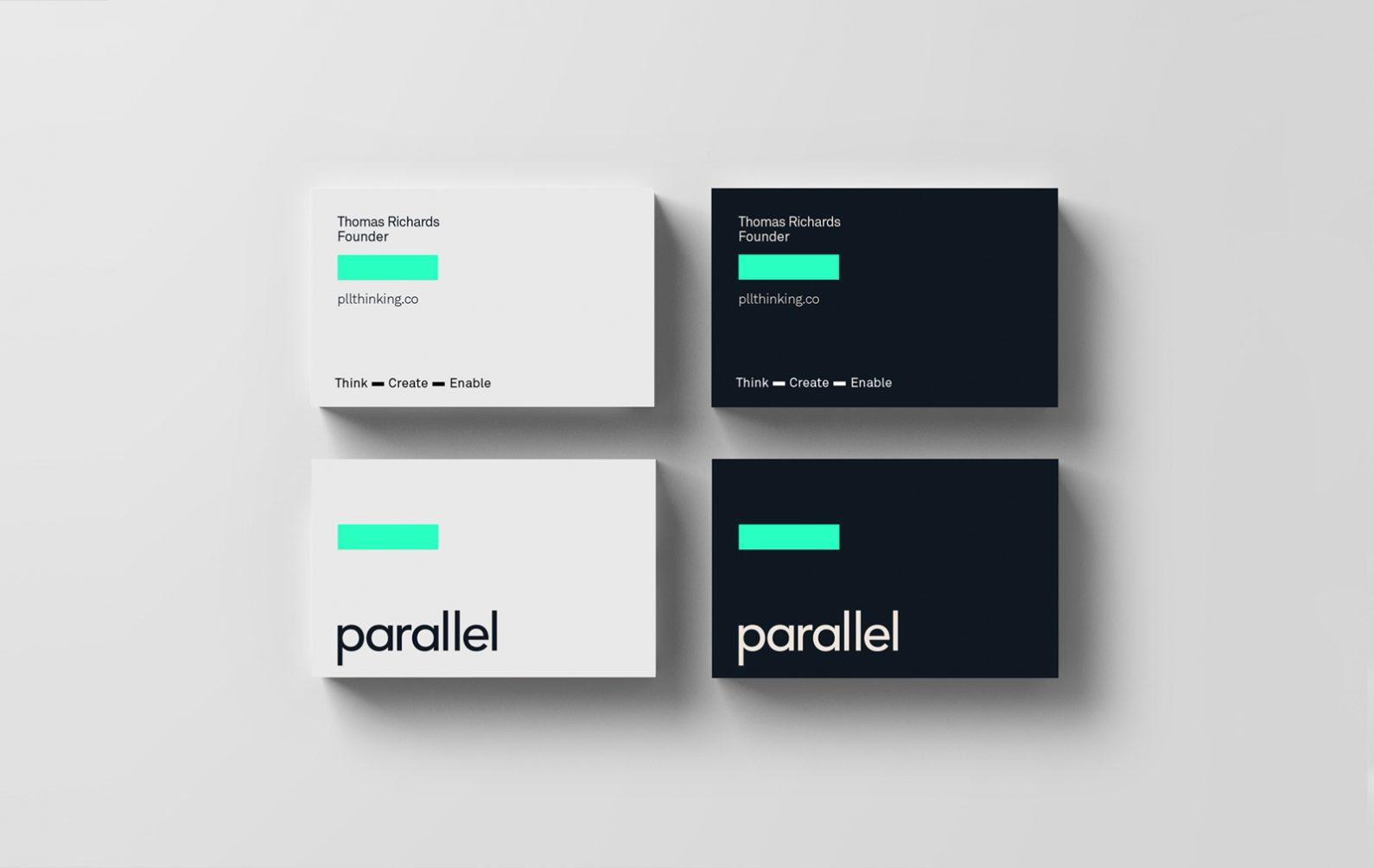 Parallel Business Cards