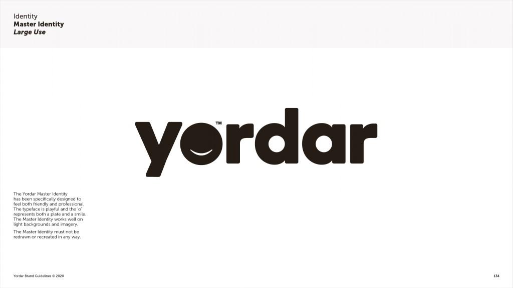 Yordar Brand Guidelines Master Identity Page
