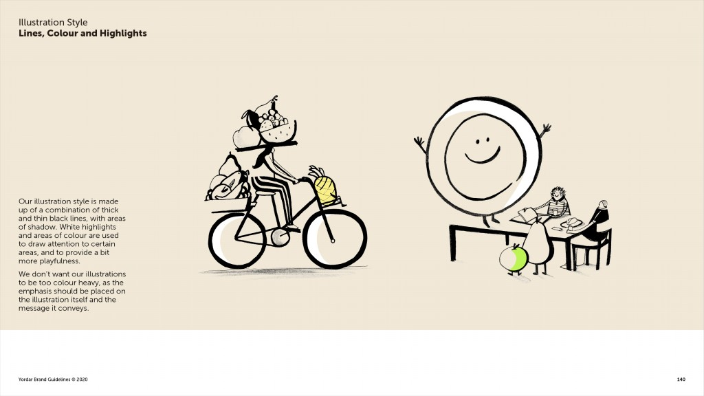 Yordar Brand Guidelines Illustration Page